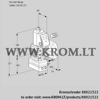 Flow rate regulator VAH3-/50F/NWAE (88021522)