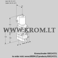 Flow rate regulator VAH1T15N/NQSLBA (88024351)