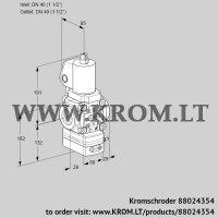 Flow rate regulator VAH2T40N/NQSLAA (88024354)