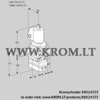 Flow rate regulator VAH3T50N/NQSLAA (88024355)