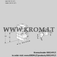 Flow rate regulator VRH1T15N05BA/MM/-1 (88024915)