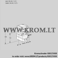 Flow rate regulator VRH240R05AE/MM/MM (88025088)