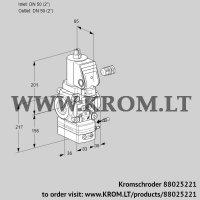 Flow rate regulator VAH350R/NWGRAE (88025221)