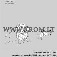 Flow rate regulator VRH1T25N05AA/MM/4- (88025504)