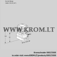 Flow rate regulator VRH1-/20R05AE/MM/PP (88025888)