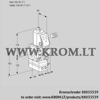 Pressure regulator VAD225/40R/NK-50A (88033539)