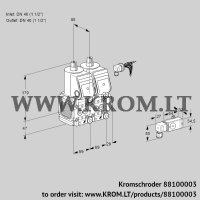 Double solenoid valve VCS2E40R/40R05FNNWR/2--4/PPPP (88100003)