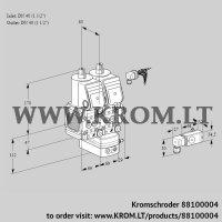 Air/gas ratio control VCG2E40R/40R05FNGEWR/2--3/PPPP (88100004)