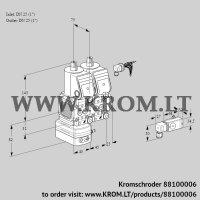 Air/gas ratio control VCG1E25R/25R05FGENWR/2--3/PPPP (88100006)