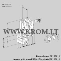 Pressure regulator VCD3E50R/50R05D-25NWR/2--3/PPPP (88100011)