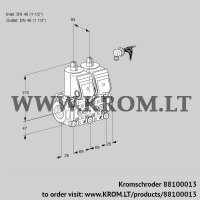 Double solenoid valve VCS2E40R/40R05NNKR/PPPP/PPPP (88100013)