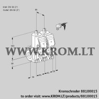 Double solenoid valve VCS3E50R/50R05NNKR/PPPP/PPPP (88100015)