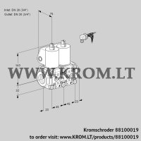 Double solenoid valve VCS1E20R/20R05NNWL/PPPP/PPPP (88100019)