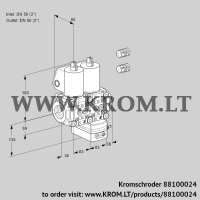Pressure regulator VCD3E50R/50R05ND-50KL3/PPPP/MMMM (88100024)