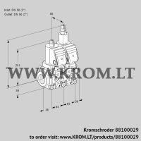 Double solenoid valve VCS3E50R/50R05NLWGR/PPPP/MMMM (88100029)