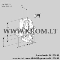 Air/gas ratio control VCG1E25R/25R05NGEVWR/PPPP/PPPP (88100038)