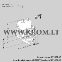 Air/gas ratio control VCG2E40R/40R05NGEVWL/PPPP/PPPP (88100042)