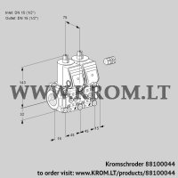 Double solenoid valve VCS1E15R/15R05NNWR/PPPP/PPPP (88100044)