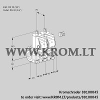 Double solenoid valve VCS1E20R/20R05NNWR/PPPP/PPPP (88100045)