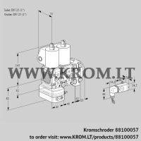 Pressure regulator VCD1T25N/25N05FD-100NVQL/PPPP/2--3 (88100057)