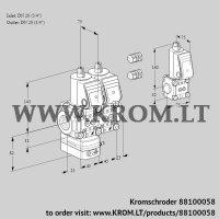 Pressure regulator VCD1E20R/20R05D-25NQR3/PPPP/PPZS (88100058)