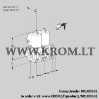 Double solenoid valve VCS1E25R/25R05NNWL3/PPPP/PPPP (88100068)