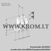 Double solenoid valve VCS1E10R/10R05NNWR6/PPPP/PPPP (88100069)