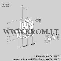 Double solenoid valve VCS1E25R/25R05NNKR/2-PP/PPPP (88100071)