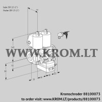 Air/gas ratio control VCG1E25R/25R05NGEWL/PPPP/PPPP (88100073)