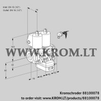 Air/gas ratio control VCG1E15R/15R05NGEWL3/PPPP/PPPP (88100078)