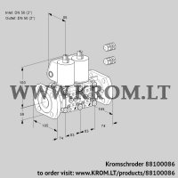 Double solenoid valve VCS3E50F/50F05NNWL3/PPPP/PPPP (88100086)