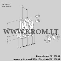 Double solenoid valve VCS3E50R/50R05NNKR3/2--3/PPPP (88100089)