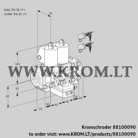 Air/gas ratio control VCG1E25R/25R05F2NGEVWL6/PPPP/PPPP (88100090)