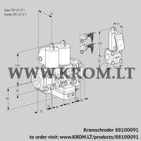 Air/gas ratio control VCG1E25R/25R05F2NGEVWL6/PPZS/PPPP (88100091)