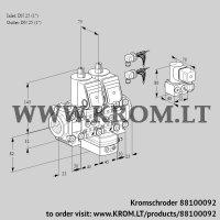 Air/gas ratio control VCG1E25R/25R05F2NGEVWR6/PPPP/PPBY (88100092)