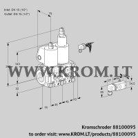 Double solenoid valve VCS1E15R/15R05NLWL/4-PP/2-PP (88100095)