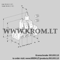 Double solenoid valve VCS2E40F/40F05NLWR3/PPPP/PPPP (88100110)