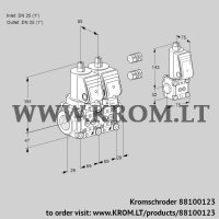 Double solenoid valve VCS2E25R/25R05NNWGR3/PPPP/PPZS (88100123)