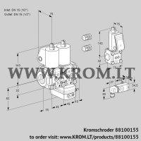 Pressure regulator VCD1E15R/15R05ND-100QL3/PPZS/2--3 (88100155)