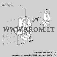 Air/gas ratio control VCG2E40R/40R05NGEWR/PPPP/PPZS (88100176)