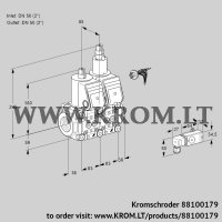 Double solenoid valve VCS3E50R/50R05NLWR/2-PP/PPPP (88100179)