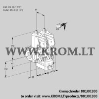Air/gas ratio control VCG2E40R/40R05NGEWR/PPPP/PPPP (88100200)