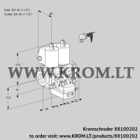 Air/gas ratio control VCG2E40R/40R05NGEWL/PPPP/PPPP (88100202)
