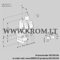 Pressure regulator VCD1E25R/25R05D-25LWR/2-PP/PPPP (88100206)