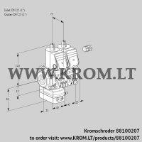 Pressure regulator VCD1E25R/25R05D-100NWR/PPPP/PPPP (88100207)