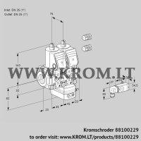Air/gas ratio control VCV1E25R/25R05NVKWR3/2-PP/PPPP (88100229)