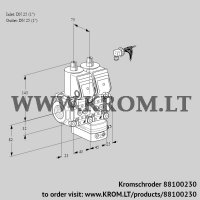 Pressure regulator VCD1E25R/25R05ND-100WR/PPPP/PPPP (88100230)