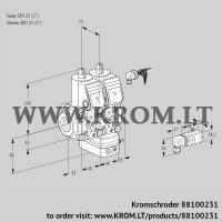 Air/gas ratio control VCG1E25R/25R05NGEWR/2-PP/PPPP (88100231)