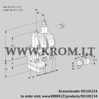 Pressure regulator VCD2E40R/40R05D-25LWR/2-PP/PPPP (88100234)