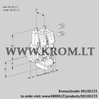 Air/gas ratio control VCG1E25R/25R05NGEQGR3/PPPP/PPPP (88100235)
